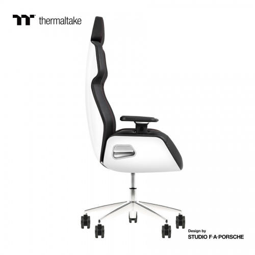 ARGENT E700 Gaming-Stuhl aus echtem Leder (Glacier White) Design by Studio F. A. Porsche