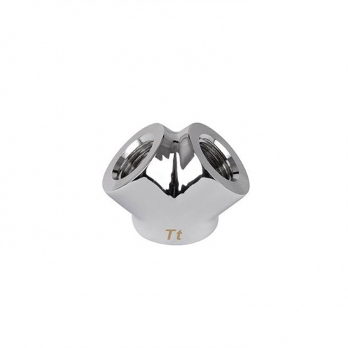 Pacific G1/4 Y Adapter - Chrome