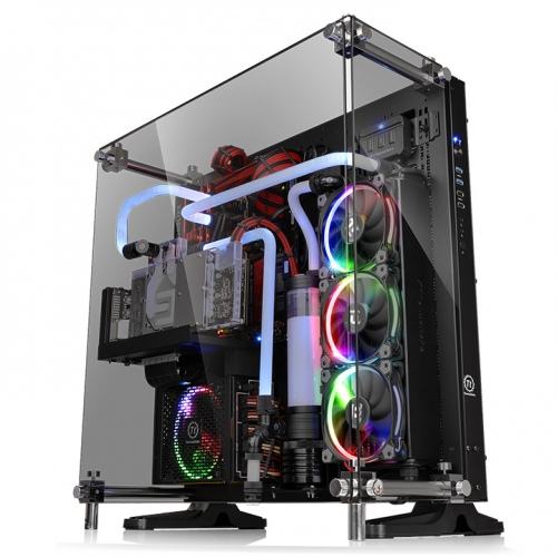 Core P5壁掛式ATX強化玻璃機殼