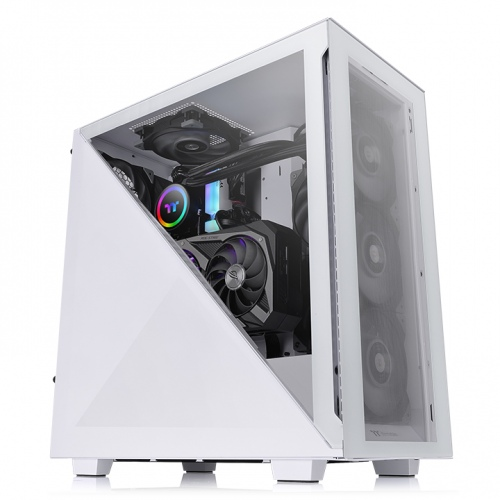 Divider 300 TG Snow Mid Tower Chassis