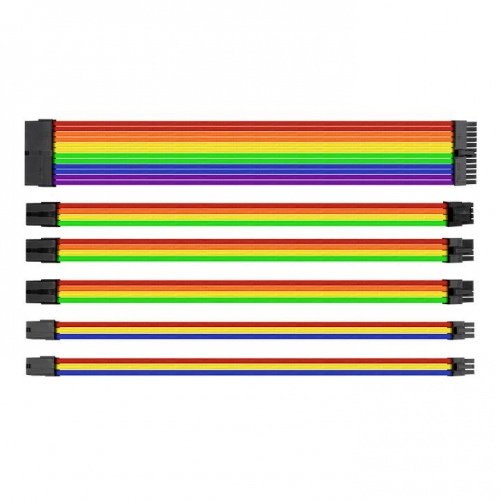 TtMod Sleeve Cable (Cable Extension) – Rainbow