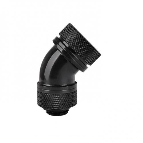 Pacific G14 PETG Tube 45-Degree Compression 16mm OD – Black