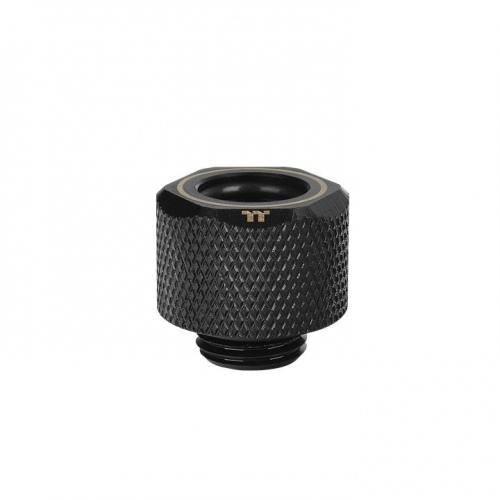 Pacific M-Pro G1/4 PETG Tube 12mm OD硬管管接頭 – 黑色