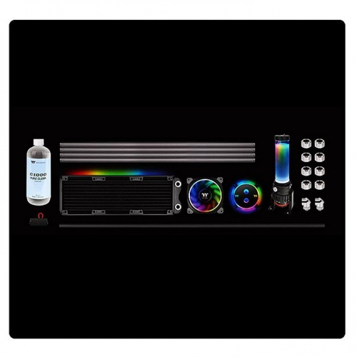 Pacific M240 D5 Hard Tube Water Cooling Kit