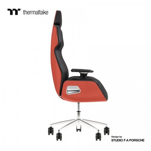 ARGENT E700 Gaming-Stuhl aus echtem Leder (Flaming Orange) Design by Studio F. A. Porsche