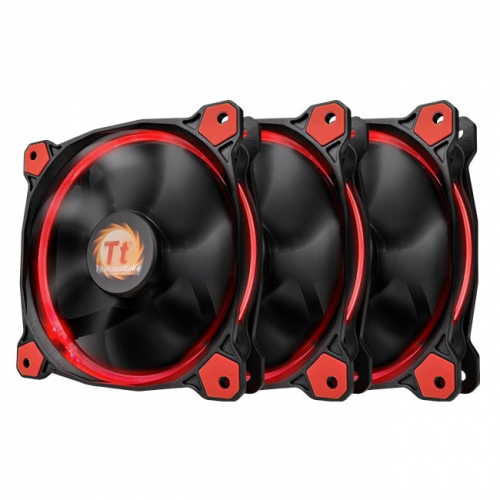 Riing 12 LED Red (3 fans pack)