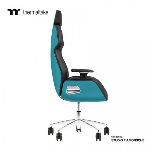 ARGENT E700 Gaming-Stuhl aus echtem Leder (Ocean Blue) Design by Studio F. A. Porsche
