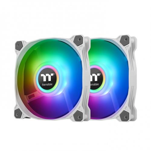 Pure Duo 12 ARGB Sync Radiator Fan (2-Fan Pack)-White
