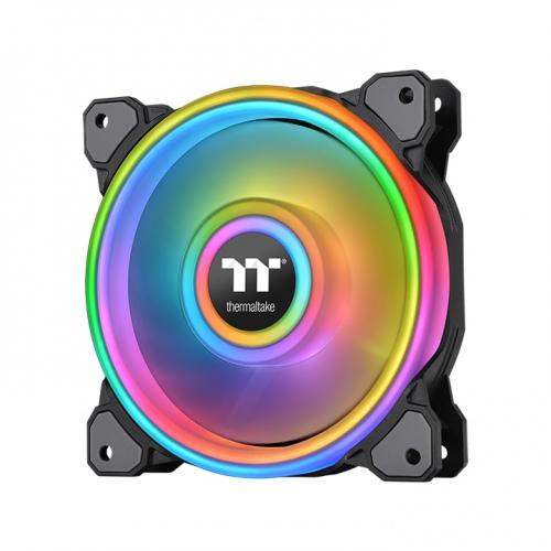 Riing Quad 12 RGB Radiator Fan TT Premium Edition Single Fan Pack