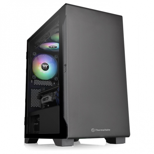 S100 Tempered Glass Micro Chassis