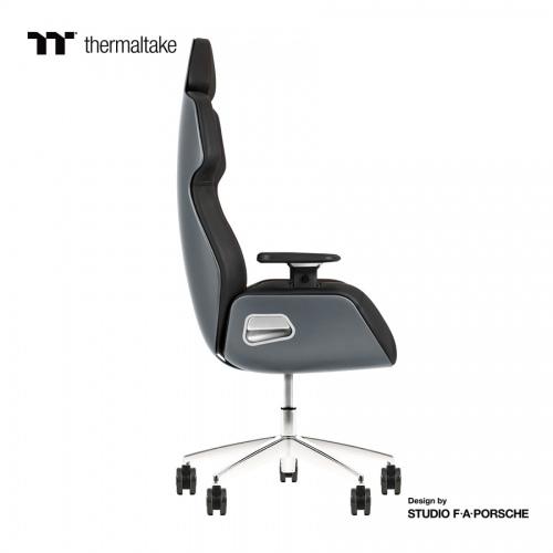 ARGENT E700 Gaming-Stuhl aus echtem Leder  (Space Gray) Design by Studio F. A. Porsche