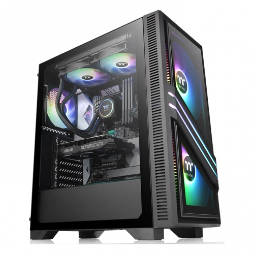 Versa T35 Tempered Glass RGB Mid-Tower Chassis