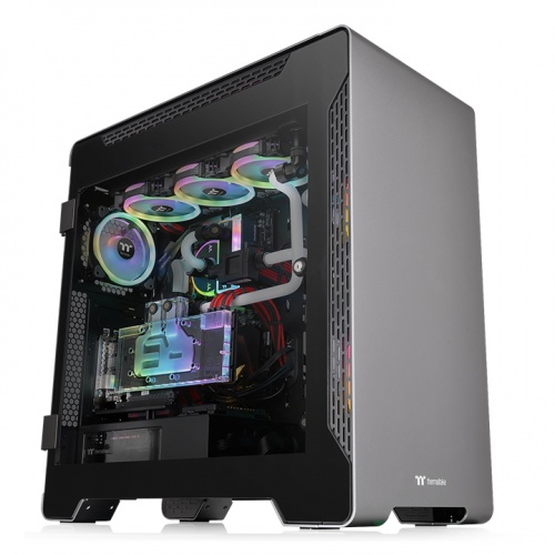 A700 Aluminum Tempered Glass Edition Full Tower Chassis