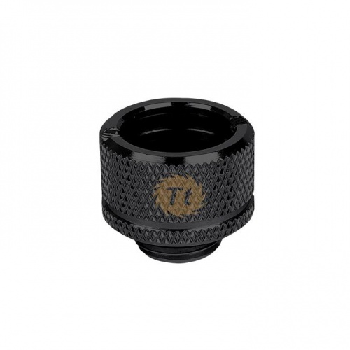 "Pacific G1/4 PETG Tube 5/8"" (16mm) OD Adapter – Black"