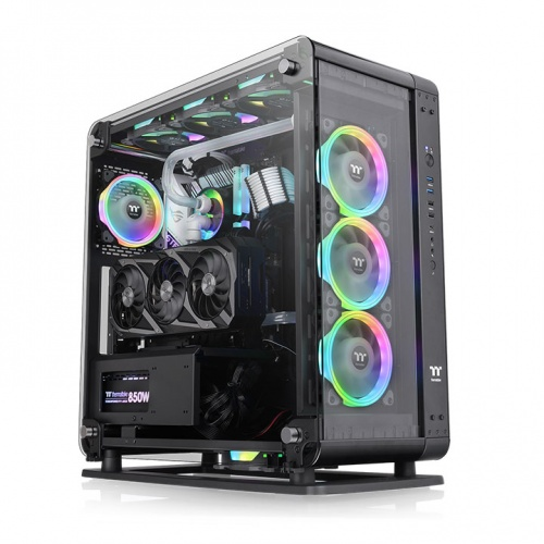 Core P6 Tempered Glass Mid Tower Chassis