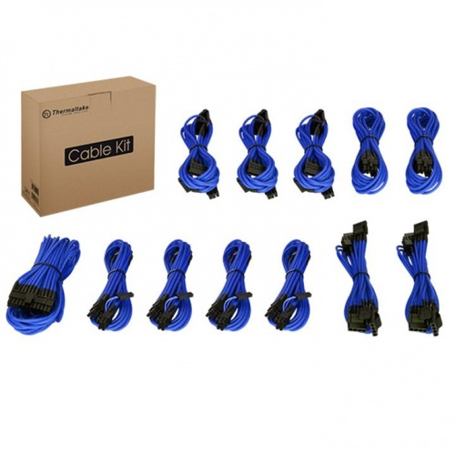 Individually Sleeved Cable Kit - Blue