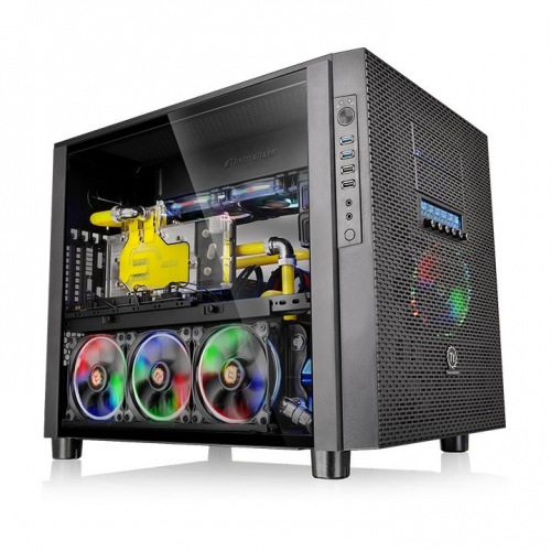 Core X5 TG 強化玻璃平躺式概念機殼