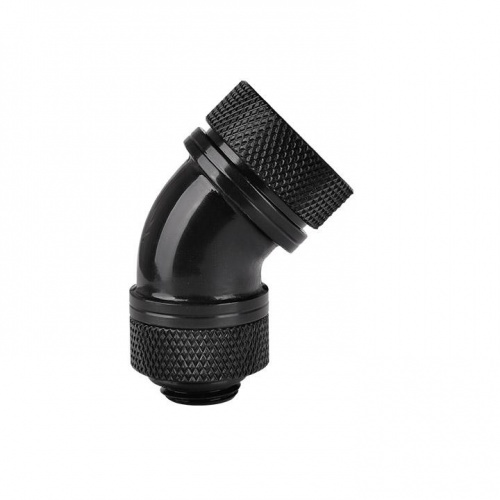 Pacific G14 PETG Tube 45-Degree Compression 16mm OD – Black