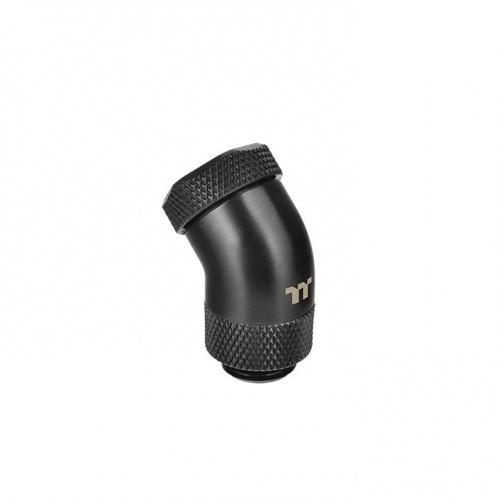 Pacific G1/4 PETG Tube 45-Degree compression 12mm OD – Black