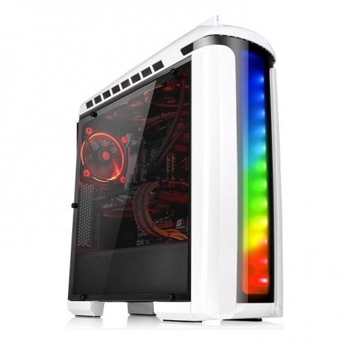 Versa C22 RGB發光開窗機殼 (雪白版)