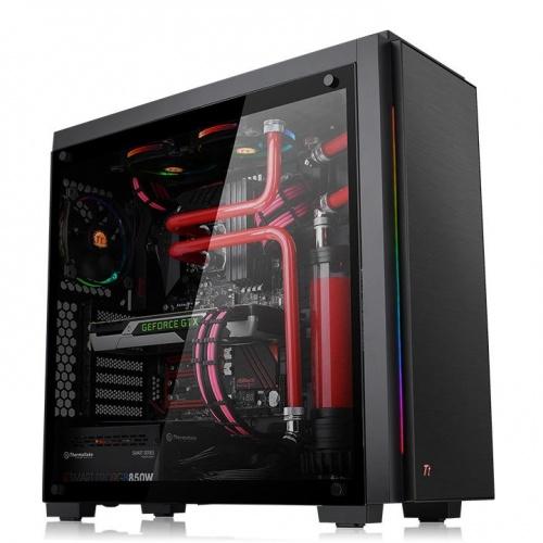 Versa C23 TG RGB 強化玻璃中直立式機殼