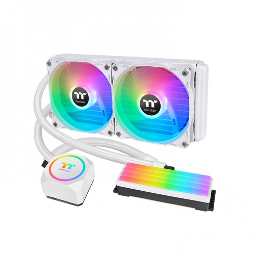 Floe RC240 CPU & Memory AIO Liquid Cooler Snow Edition