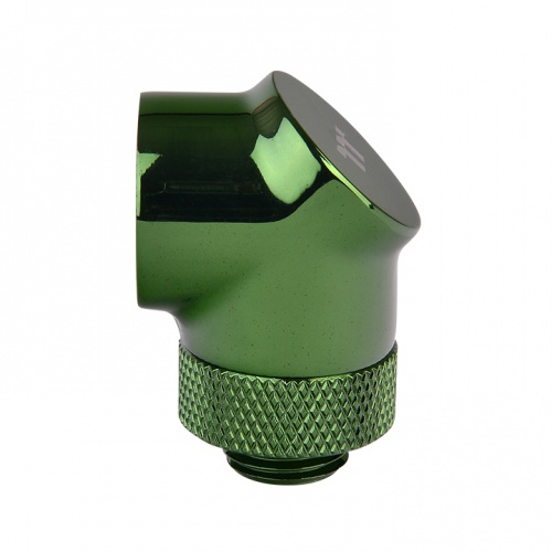Pacific G1/4 90 Degree Adapter – Green (2-Pack Fittings)