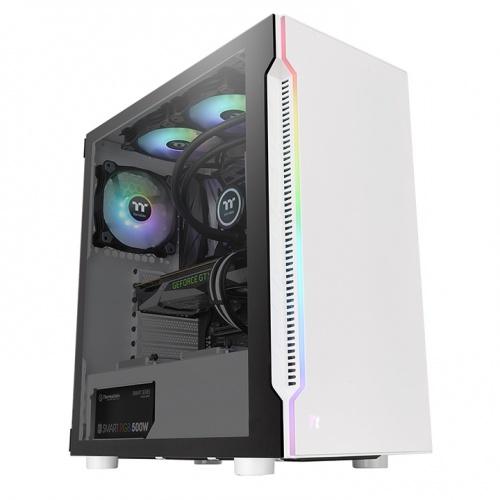 阿迪爾 H200 TG Snow RGB 強化玻璃中直立式機殼