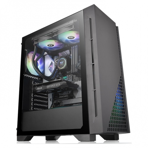 H330 Tempered Glass Mid-Tower Chassis
