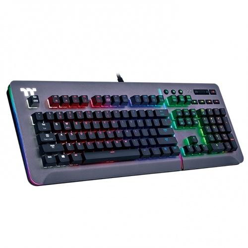 Level 20 RGB Titanium Gaming Keyboard Cherry MX Blue