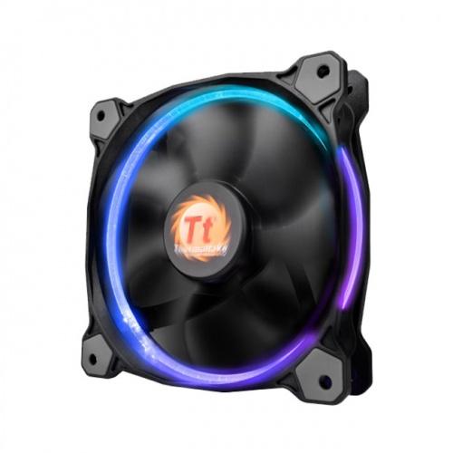 Riing 高風壓RGB 12公分水冷排風扇 (單顆風扇包裝)