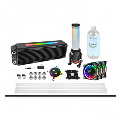 Pacific M360 Plus D5 Hard Tube Water Cooling Kit
