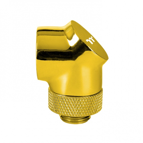 Pacific G1/4 90 Degree Adapter – Gold
