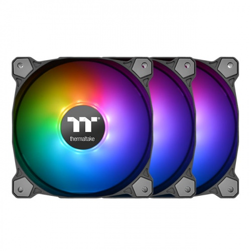 Pure 14 ARGB Sync Radiator Fan TT Premium Edition (3-Fan Pack)