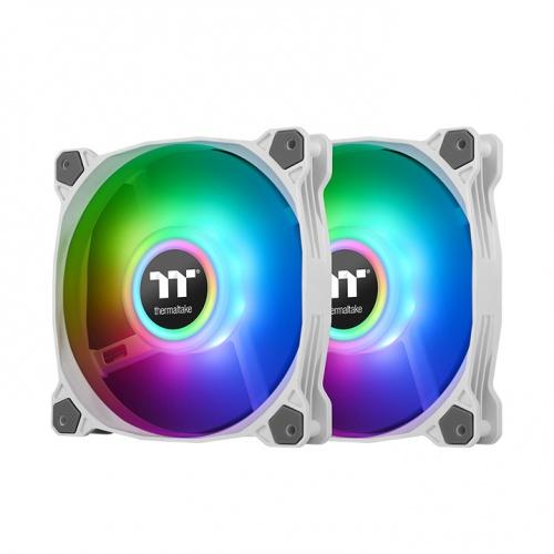 Pure Duo 14 ARGB Sync Radiator Fan (2-Fan Pack)-White