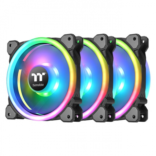 Riing Trio 12 RGB水冷排風扇TT Premium頂級版 (三顆包裝)