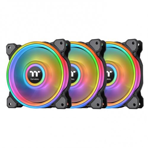 Riing Quad 12 RGB Radiator Fan TT Premium Edition 3 Fan Pack (Controller included)
