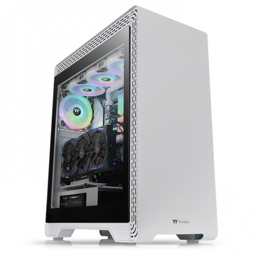 S500 Tempered Glass Snow Edition Mid-Tower Chassis