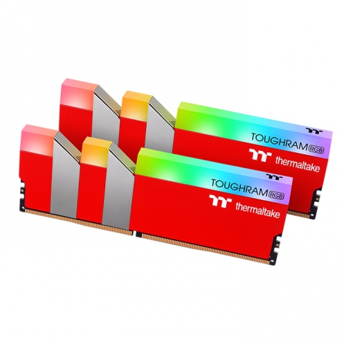 TOUGHRAM RGB Memory DDR4 3600MHz 16GB (8GB x2)-Racing Red