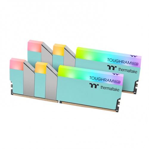 TOUGHRAM RGB Memory DDR4 3600MHz 16GB (8GB x2)-Turquoise