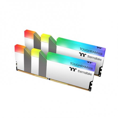 鋼影 TOUGHRAM RGB 記憶體 DDR4 3200MHz 32GB (16GB x 2)-白色
