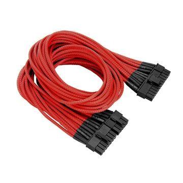 Individually Sleeved 20+4Pin ATX Cable -Red