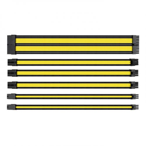 TtMod Sleeve Cable (Cable Extension) – Yellow and Black