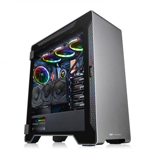A500 Aluminum Tempered Glass Edition Mid Tower Chassis