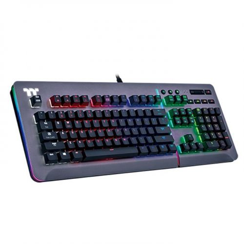 Level 20 RGB Titanium Gaming Keyboard Cherry MX Speed Silver