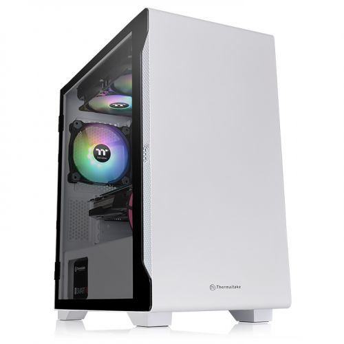 S100 Tempered Glass Snow Edition Micro Chassis