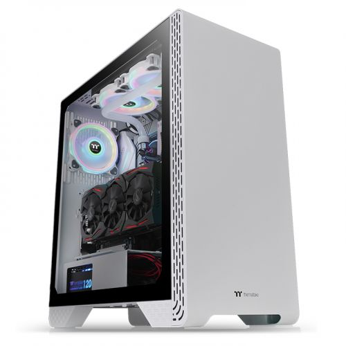 S300 Tempered Glass Snow Edition Mid-Tower Chassis