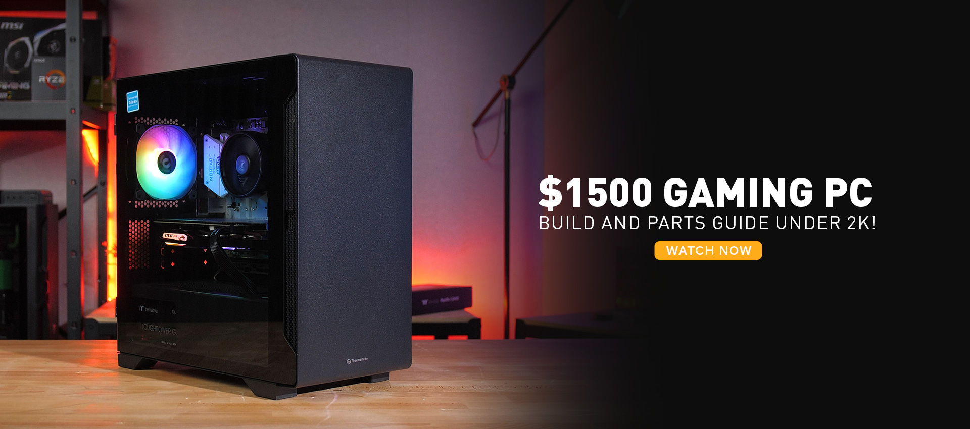 1500 PC Build