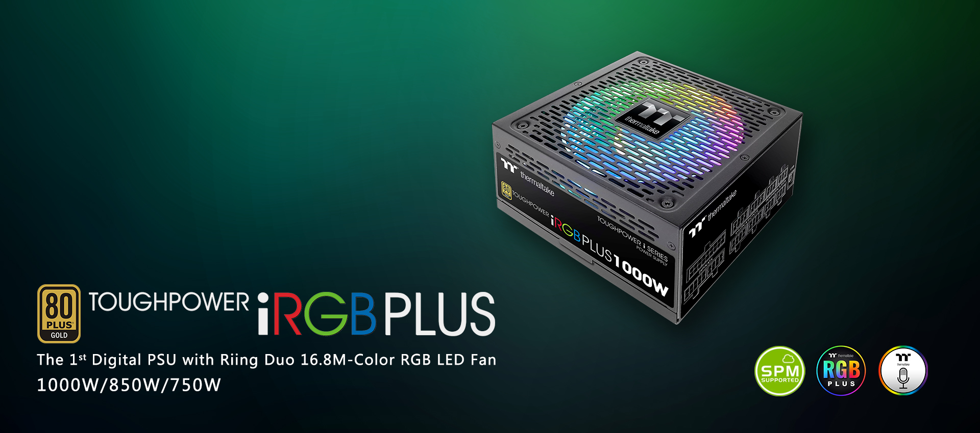 Toughpower iRGB PLUS 1000W Gold - TT Premium Edition