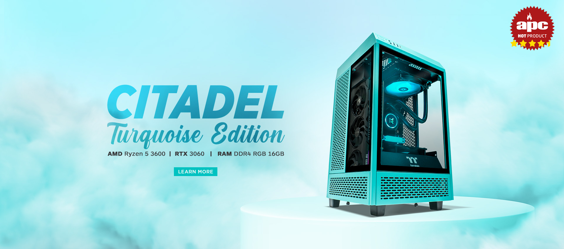 Citadel Turquoise Gaming System